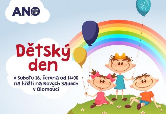 Přijďte na Dětský den v sobotu 16. června!