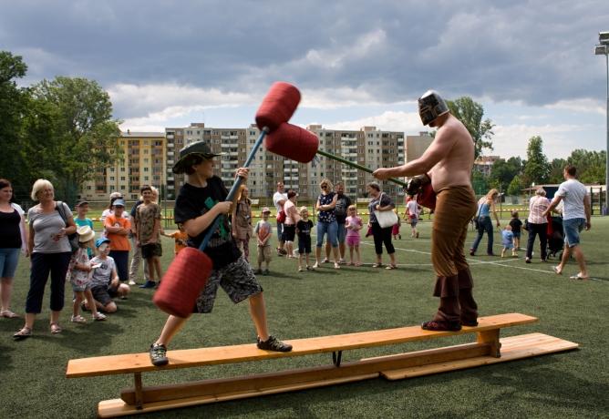 ANO, rozdáváme radost! Přivítali jsme léto na Nových Sadech v Olomouci