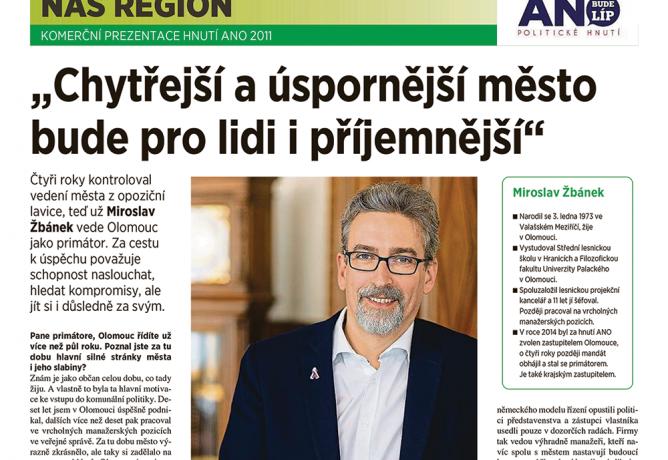 Mirek Žbánek: Chytřejší a úspornější město bude pro lidi i příjemnější