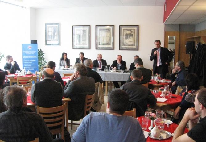Diskuzní setkání s podnikateli: Posílení regionu a podpora podnikání