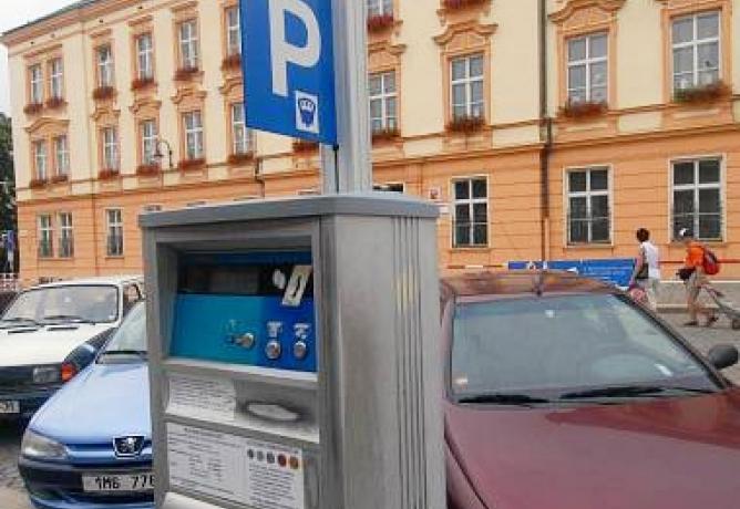 Budeme v Olomouci platit parkovné pomocí SMS?