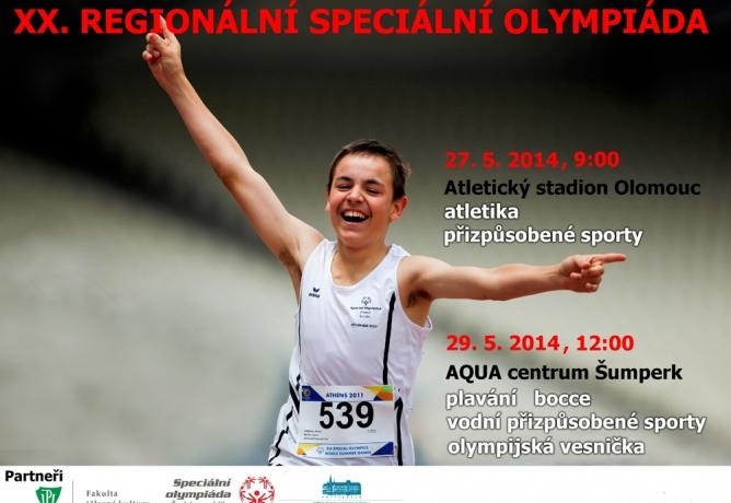 XX. Regionální speciální olympiáda pro handicapované