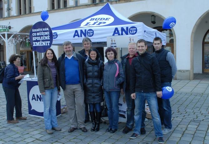 Eurovolby: Předvolební mítink v Olomouci