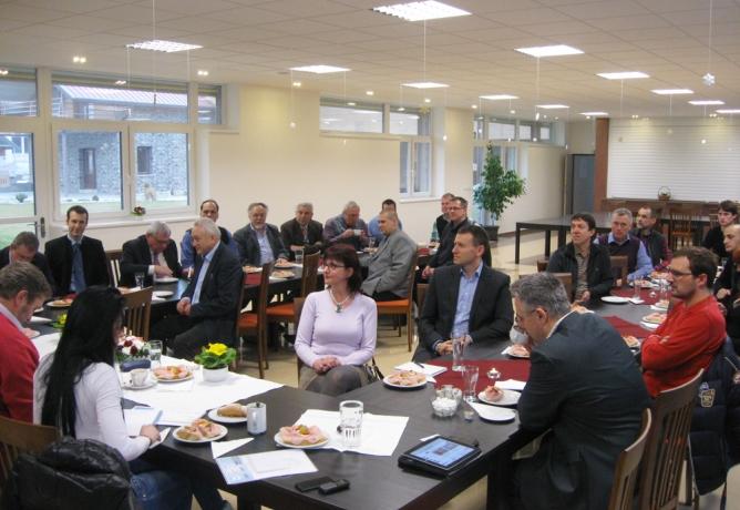 Setkání poslanců ANO s podnikateli a veřejností